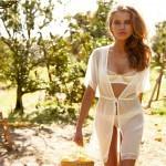 Апельсины Сицилии и русская модель в Intimissimi каталоге весна-лето 2012