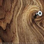 Деревянный wallpaper на рабочий стол