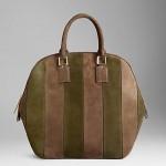 Замшевая сумка — хит осени от Burberry