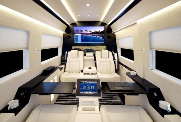 Mercedes benz sprinter jetvan becker jetvans for Mercedes benz sprinter jetvan