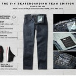 The 511 skateboarding team edition — совместная коллекция от Nike и Levi's