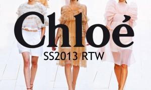 Коллекция Chloé весна-лето 2013