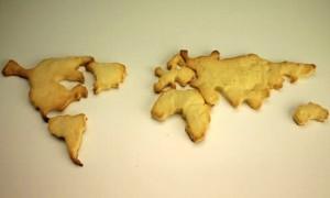 форма для печенья World Cookie Cutter Set
