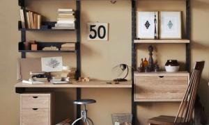 Винтажный деревянный стеллаж от Design Workshop