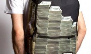 Молодежный рюкзак для ноутбука Money Stacks Backpack