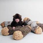Подушка-бревно, подушка-пицца, и другие необычные предметы интерьера