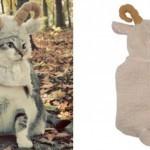 Забавный костюм для маленькой собаки в виде овечки от Zack & Zoey