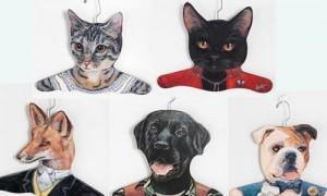 необычные плечики для одежды Animal Clothes Hanger