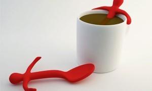 Mr. Spoon - концепт чайной ложки от Dani Catalán