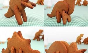 Формы для выпечки печенья 3D Dinosaur