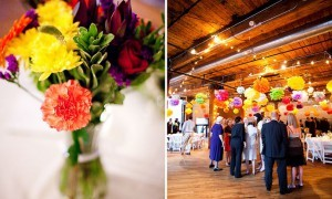 Яркая свадьба в Brooklyn Bridge Park