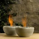 Декоративные каменные чаши River Rock Fire Bowls