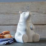 Керамическая банка для печенья Bear Cookie Jar