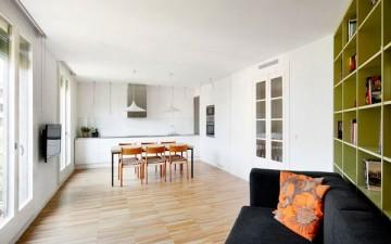 Испанский интерьер квартиры в Барселоне