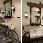 Интересная идея для ванной комнаты от Benjamin Bullins