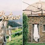 Стильная американская свадьба на Saddlerock Ranch