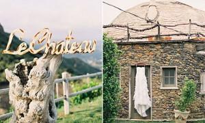 Стильная американская свадьба на Saddlerock Ranch (1)