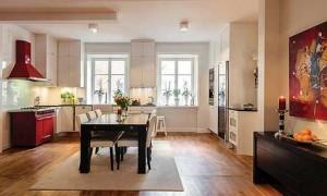 интерьер шведской квартиры (1)