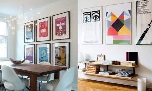 Постеры в дизайне интерьера