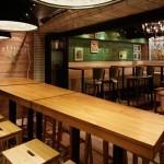 Дизайн интерьера ресторана La Oliva в Токио
