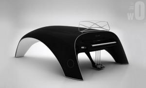 Современный рояль Whaletone от Robert Majkut