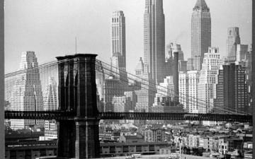 Черно-белые фотографии Нью-Йорка: подборка винтажных снимков