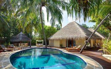 Рай на Мальдивах: Kuramathi Island Resort