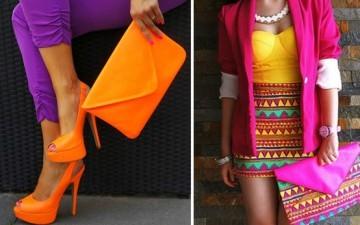 Хит сезона весна-лето 2013: неоновая мода