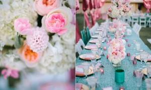 свадьба на открытом воздухе от Gina Meola