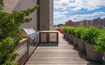 Пентхаус с великолепным видом на горизонт Манхэттена