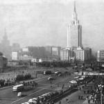 Фотографии советской Москвы: Комсомольская площадь