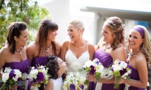 свадьба в фиолетовых тонах от Caroline Tran (18)