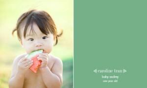 Профессиональные фотографии маленьких детей от Caroline Tran