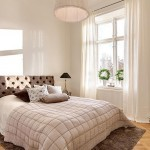 Современный дизайн интерьера в бежевых тонах квартиры в Стокгольме