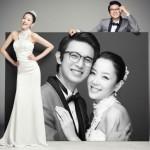 Тренд: студийная свадебная фотография