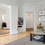 Элегантная квартира в Швеции: 4-х комнатная роскошь