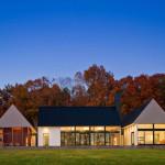 Becherer House — современный дом в сельской местности
