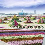 Оазис в пустыне — парк цветов в Дубае