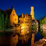 Город Брюгге — самый живописный и красивый город Бельгии